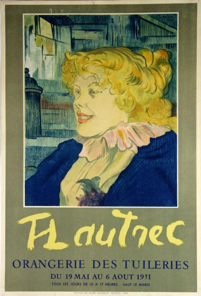 38103a0501b Contactez le vendeur Lithographie Toulouse-Lautrec - Orangerie Des Tuileries