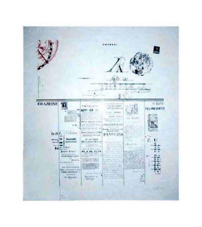 Lithographie Dole - Orazione