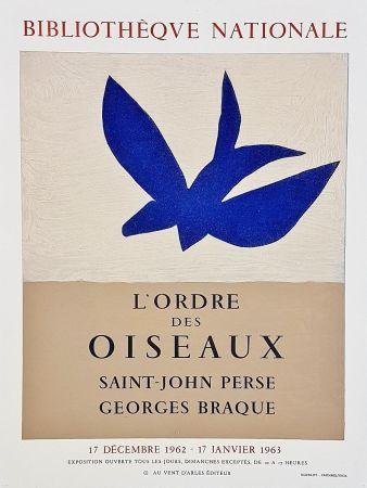 Affiche Braque - Ordre des oiseaux