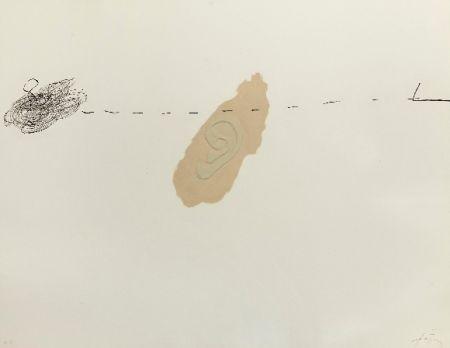 Gravure Tàpies - Orella