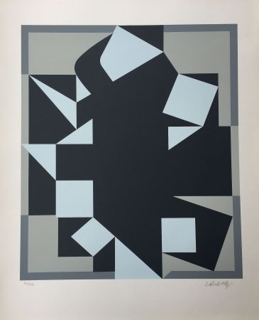 Sérigraphie Vasarely - Orgovan