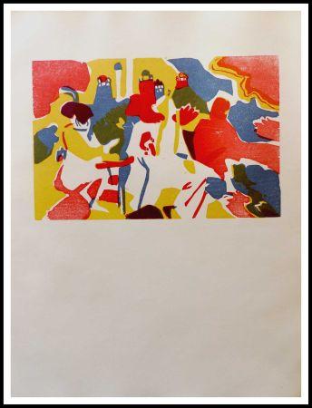 Gravure Sur Bois Kandinsky - ORIENTALES