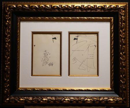 Aucune Technique Dali - Original Pen and India ink Drawing