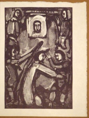 Gravure Sur Bois Rouault - Originalholzschnitt zur