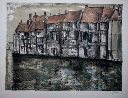 Lithographie Gantner - Ornans