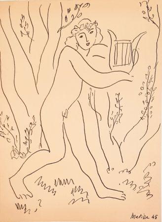 Aucune Technique Matisse - Orphée  Les Musiciens Celébres