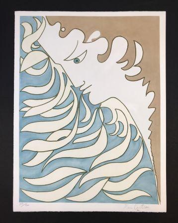 Lithographie Cocteau - Orpheus