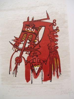 Lithographie Lam - Orsa Maggiore