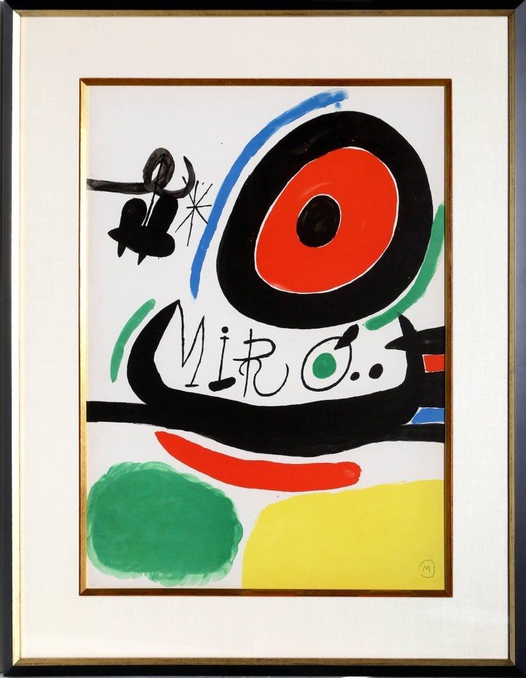 Lithographie Miró - Osaka Exhibition (M. 680)