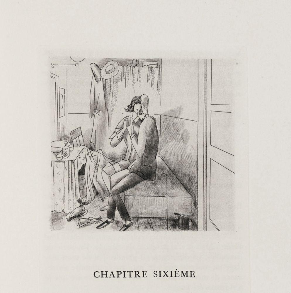 Livre Illustré Laboureur - Oscar Wilde : LE PORTRAIT DE DORIAN GRAY. 23 gravures originales (1928)