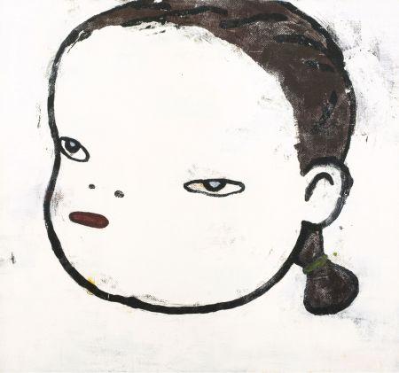 Aucune Technique Nara - O.T. by Yoshitomo Nara Original Acrylic