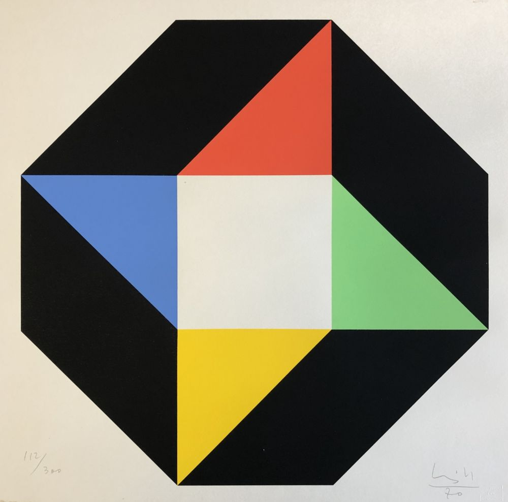 Lithographie Bill - Ottagono