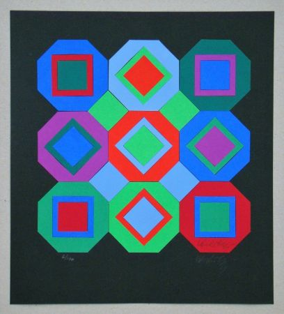 Multiple Vasarely - OttO