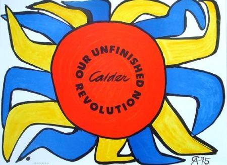 Lithographie Calder - Our unfinished révolution