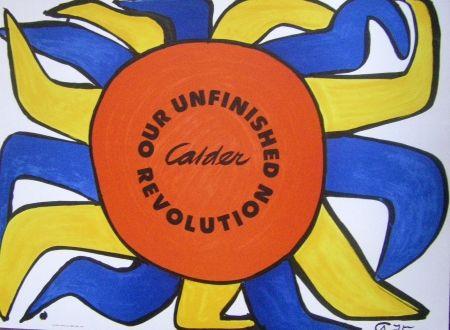 Affiche Calder - Our Unfinished Revolution