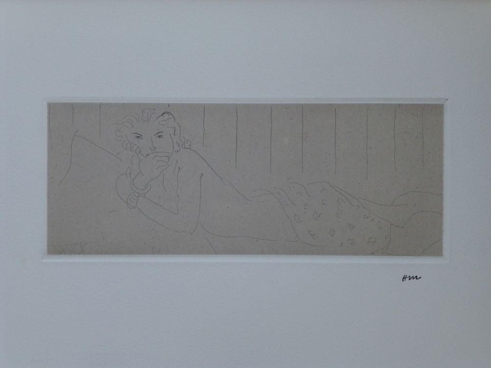 Eau-Forte Matisse - Ouvre gravé volumes I & 2