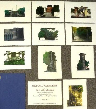 Sérigraphie Abrahams - Oxford Gardens I-X