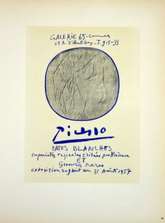 Lithographie Picasso (After) - Pâtes Blanches
