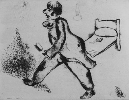 Eau-Forte Chagall - Pétrouchka
