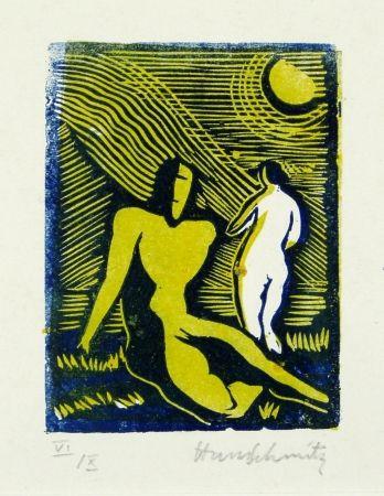 Linogravure Schmitz - Paar (Couple)