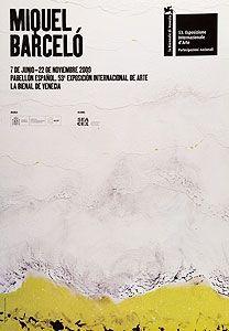 Affiche Barcelo - Pabellon Espanol, Biennale di Venezia