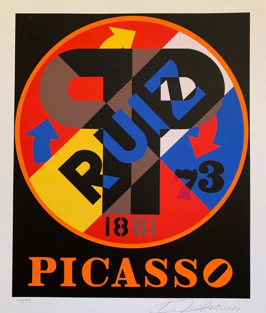 Sérigraphie Indiana - Pablo Picasso
