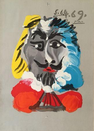 Lithographie Picasso - Pablo Picasso- Portraits Imaginaires 5.6.4.69