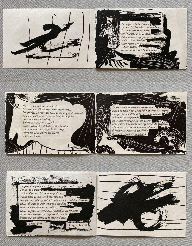 Livre Illustré Picasso - Pablo Picasso - Georges Hugnet