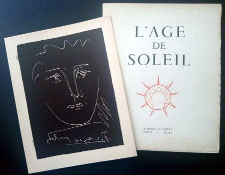 Livre Illustré Picasso - Pablo PICASSO - R.-J. Godet : L'AGE DE SOLEIL