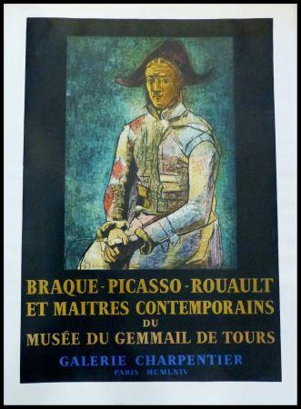 Affiche Picasso - PABLO PICASSO, MUSÉE DU GEMMAIL À TOURS GALERIE CHARPENTIER