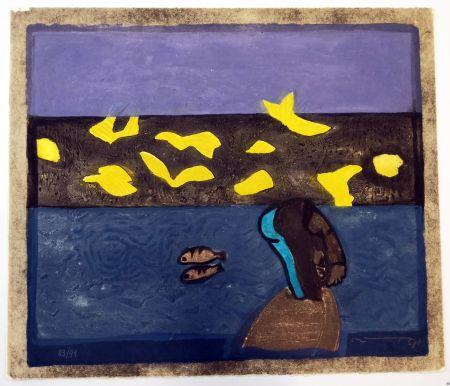 Linogravure Ortega - Paesaggio