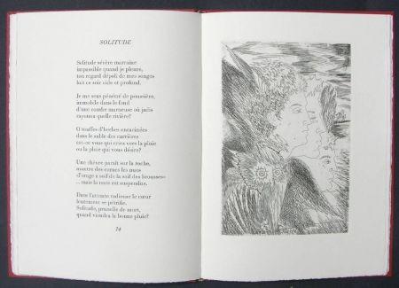 Livre Illustré Sassu - Page blanche beau desert