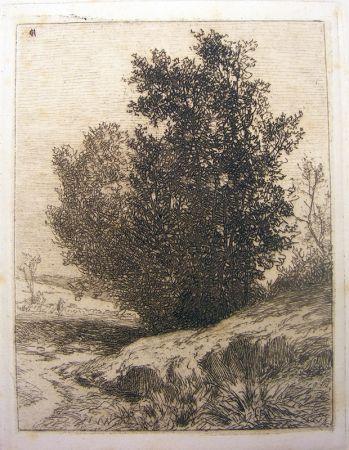 Gravure De Haes - Paisaje (Árboles)