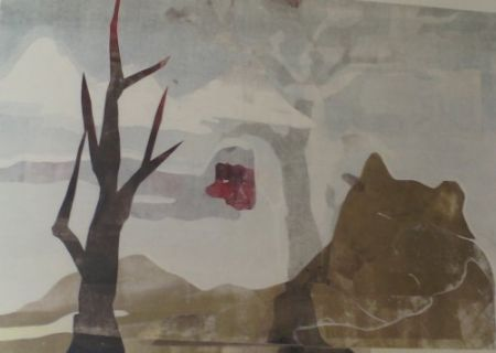 Monotype Ikemura - Paisajes con el monte Fuji 7