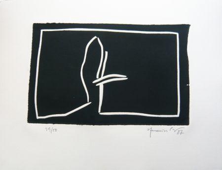 Linogravure Hernandez Pijuan - Paisatge 2