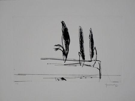 Pointe-Sèche Hernandez Pijuan - Paisatge amb xiprers VI / Landscape with Cypresses VI