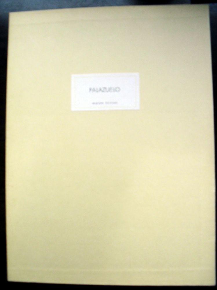 Livre Illustré Palazuelo - PALAZUELO. DERRIÈRE LE MIROIR N° 184. Mars 1970. Tirage De Luxe SIGNÉ