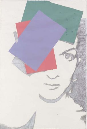 Sérigraphie Warhol - Paloma Picasso