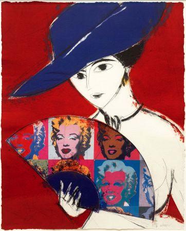 Gravure Valdés - Pamela I (Warhol)