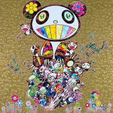Offset Murakami - Panda Family Gold