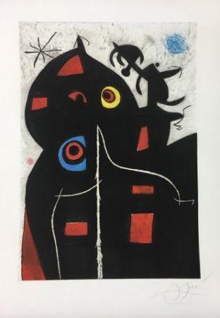Eau-Forte Et Aquatinte Miró - Pantagruel