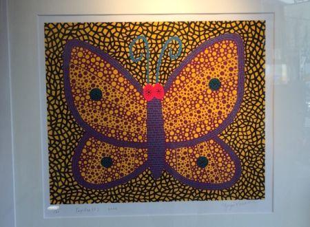 Sérigraphie Kusama - Papillon1