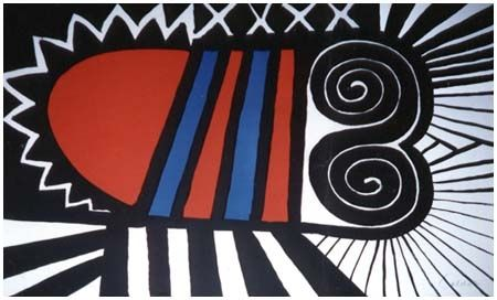 Lithographie Calder - Papoose