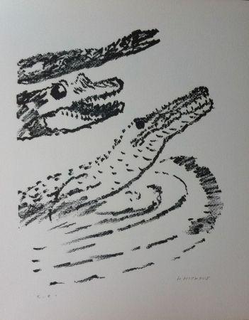 Lithographie Michaux - Par la voie des rythmes 153