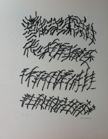 Lithographie Michaux - Par la voie des rythmes 156