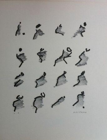 Lithographie Michaux - Par la voie des rythmes 159
