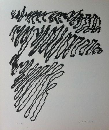 Lithographie Michaux - Par la voie des rythmes 163