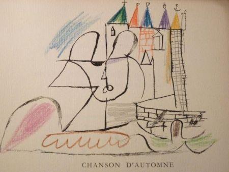 Livre Illustré Roux - Par Robert Ganzo. Avec vingt-trois lithographies rehaussées de couleurs de Gaston-Louis Roux.