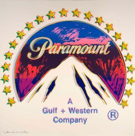 Sérigraphie Warhol - Paramount (FS II.352)