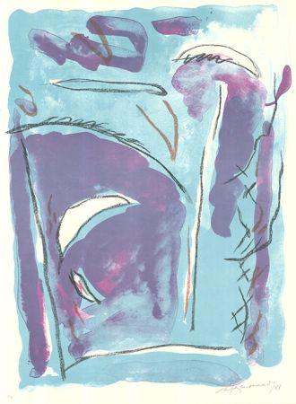 Lithographie Ràfols Casamada - Parc-5